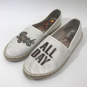 Circus By Sam Rose All Day Espadrilles Flats 8.5